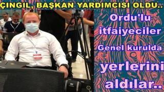ORDU İTFAİYE MÜDÜRÜ YUSUF ÇINGIL'A ÖNEMLİ GÖREV..