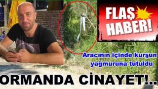 ARACINA ATEŞ AÇILDI HAYATINI KAYBETTİ..