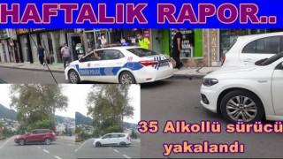 Bir haftada 79 araç trafikten men edildi..