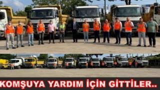 BÜYÜKŞEHİRDEN KASTAMONU'YA YARDIM ELİ..