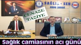 Sağlık Müdürü Dr. Mustafa Kasapoğlu'nun babası vefat etti..