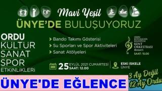 ÜNYE'DE DOLU DOLU EĞLENCE SİZLERİ BEKLİYOR..