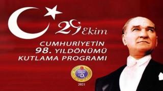 29 Ekim Cumhuriyet Bayramı kutlama töreni..