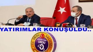 Başkan Güler, Ordu'ya ne kadar yatırım yapıldığını açıkladı.