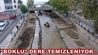 BÜLBÜL DERESİ İSLAH ÇALIŞMASI YAPILIYOR..