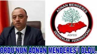 Ercan Gündüz (ADFED) Başkanı oldu..