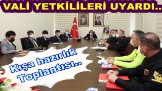 KIŞ MEVSİMİ İÇİN GEREKLİ TEDBİR ALINIYOR..
