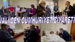 VALİ'DEN CUMHURİYET YAŞITLARINA ÖZEL ZİYARET..