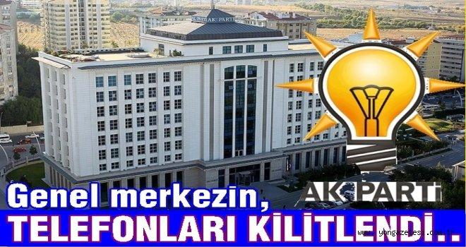 AKP genel merkezi telefon yağmuruna tutuldu..