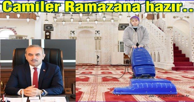 Altınordu Belediyesi, Camileri temizledi..