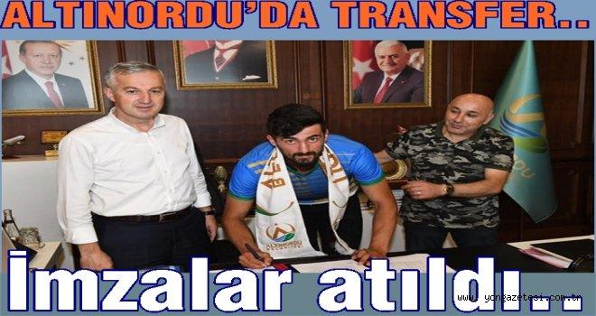 Altınordu Belediyespor önemli transferler..