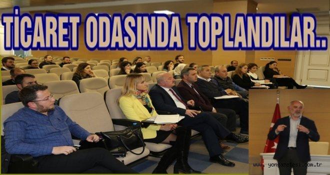 Avukatlardan VERBİS sistemi hakkında toplantı..