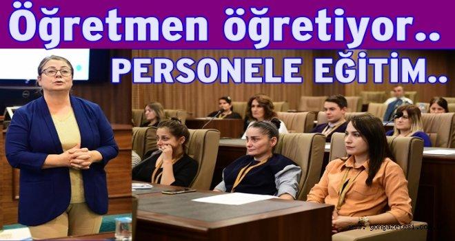Belediye Personeline resmi yazışma eğitimi..