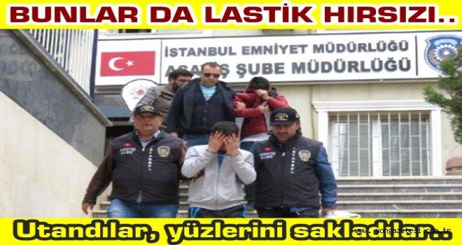KIŞA HAZIRLIK İÇİN ARAÇ LASTİĞİ ÇALDILAR..