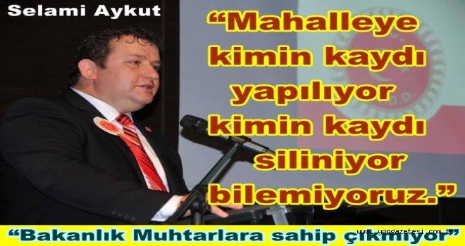 MUHTAR HALKIN KARŞISINDA MAĞDUR EDİLİYOR..