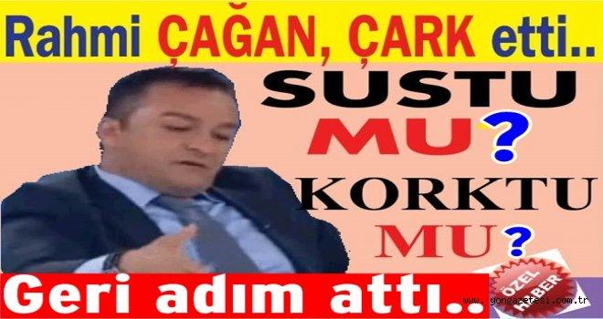 Rahmi Çağan sözlerini geri aldı ve helallik istedi..