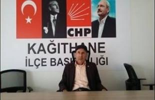 Hasan Çavuş CHP Kağıthane Engelliler Komisyonu Başkanı açıklamaları..