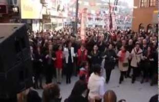 CHP Kağıthane ilçe başkanlığının seçim öncesi çalışmaları..