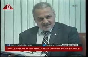 VEYSEL ARAÇ KORGAN DSP İLÇE BAŞKANI..
