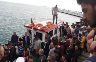 TCG FATİH (F-242) GEMİSİ ORDU ZİYARETİNDE YAŞANAN REZALET..
