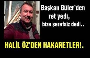 HALİL ÖZ'ÜN YÖN GAZETESİNE YAPTIĞI HAKARETLER