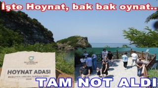 Hoynat adası görenleri hayran bırakıyor..