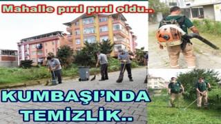 ALTINORDU BELEDİYESİ KUMBAŞI HALKINI RAHATLATTI..