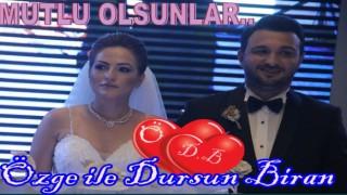 ÖZGE ile DURSUN BİRAN'IN MUTLU GÜNLERİ..